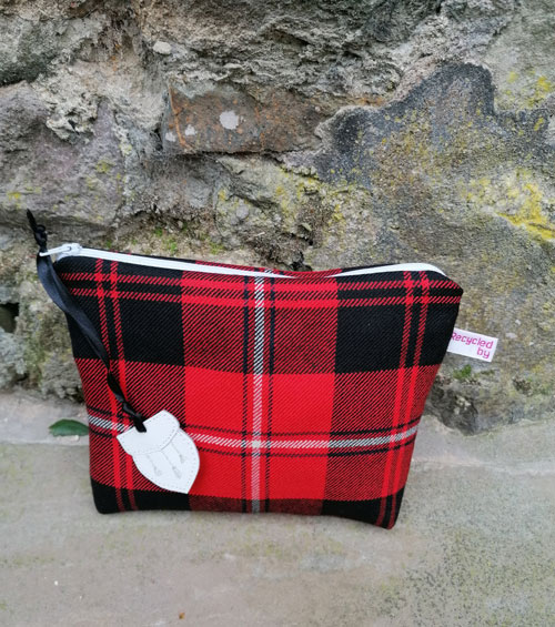 Bag: Red Tartan lined