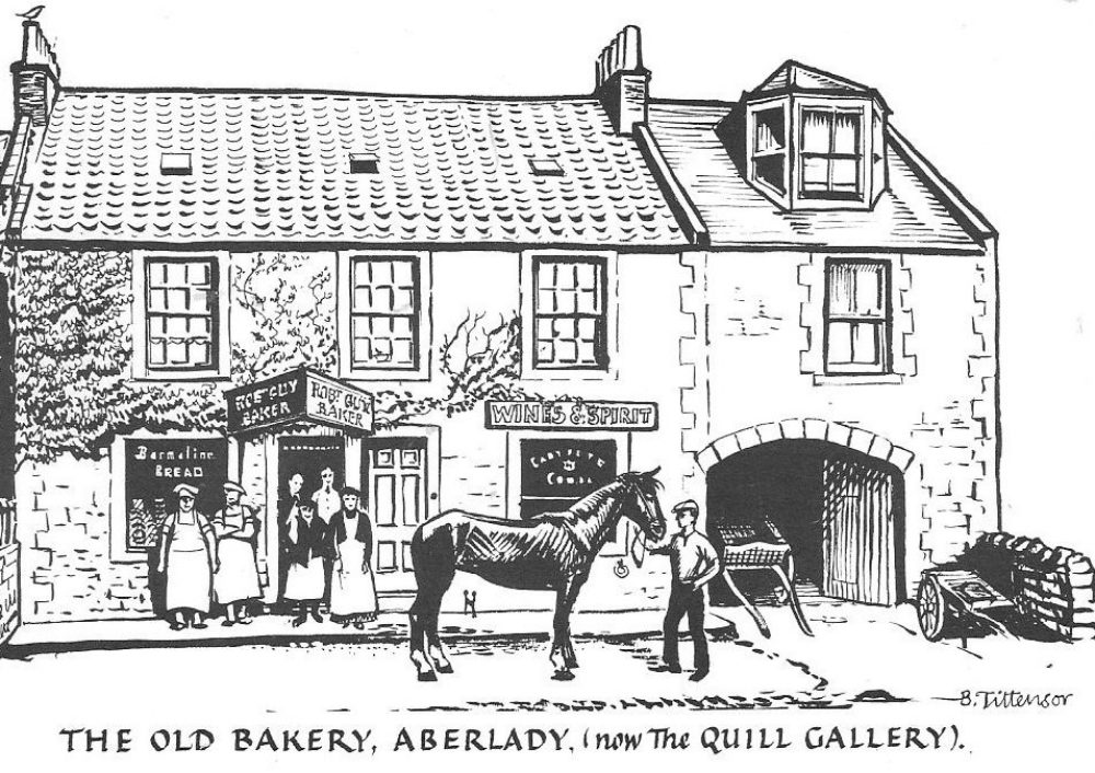 Old Bake House Tearoom, Aberlady